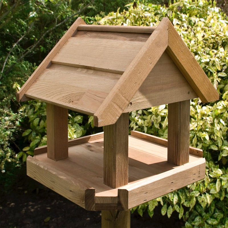 Selection of Bird Houses available from Rowlinsons Garden Products range
