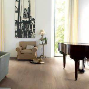 Lifestyle image of Quick Step Compact flooring, the Oak Cobblestone Grey