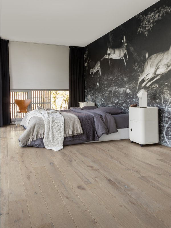Dusk oak oiled engineered floor boards from Quick Step