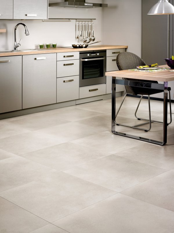 Polished Concrete Natural, part of Quick-Steps Arte Laminate Flooring