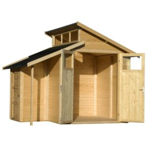 Shed with Store 7x10