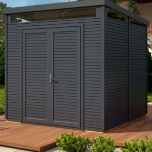 Pent Security Shed 8x8