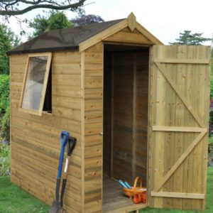 Premium 6x4 Shed